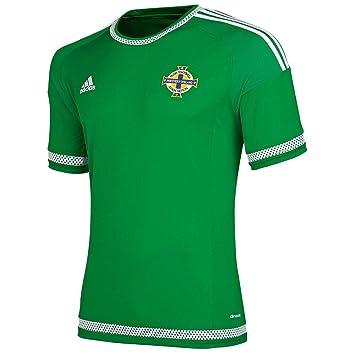 Adidas Camiseta de fútbol, diseño de Irlanda del Norte Temporada 2015 Verde Verde Talla:XL: Amazon.es: Deportes y aire libre