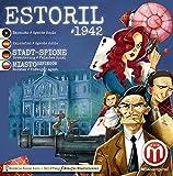 MESAboardgames HDBD0165 Stadt der Spione: Estoril 1942 Falsches Spiel 1.Erweiterung