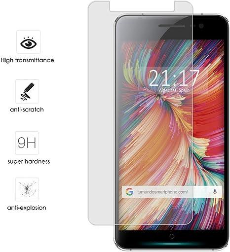 Tumundosmartphone Protector Cristal Templado para WOLDER WIAM #65 Vidrio: Amazon.es: Electrónica