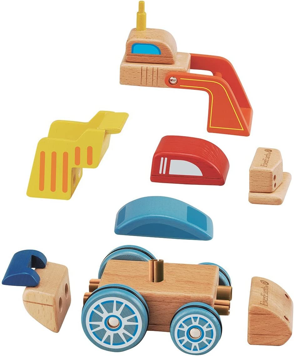 EverEarth® Spielzeug Auto »Wandelbares Fahrzeug«, aus Holz