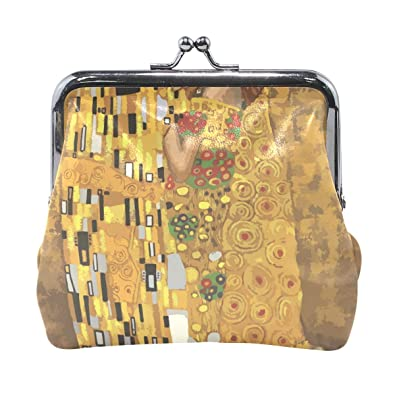 Amazon.com: Gustav Klimt KissesWomen - Monedero con cierre ...