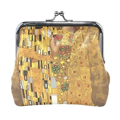 Amazon.com: Gustav Klimt KissesWomen - Monedero con cierre ...