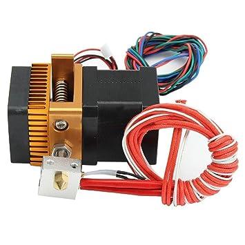 Gazechimp Cabeza de Impresora Única de 12V 0,4mm Unidades de ...