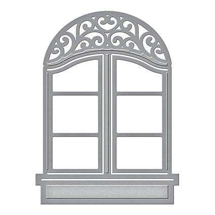 Amazon.com: Spellbinders S2-016 Shapeabilities D-Lites Window 2-Die ...