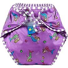 Kushies Baby Unisex Swim Diaper - Large,Mermaids Print,Large,