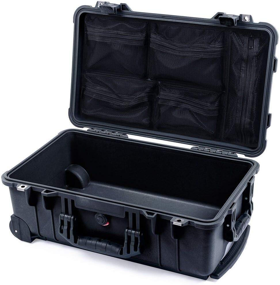 /& mesh lid Organizer. Empty Black Pelican 1510 No Foam