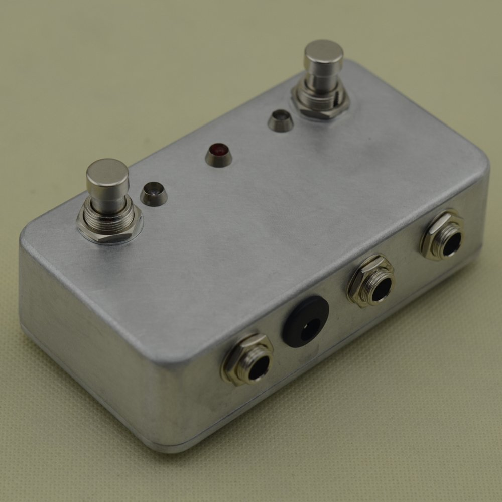 New Hand Made Aby Guitar Pedal Switch Box A B Combiner Ab Wiring Diagram Footswitch True Bypass Amp Musical Instruments