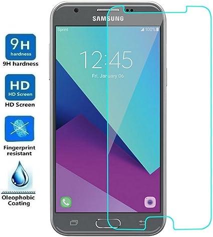 REY Protector de Pantalla para Samsung Galaxy J3 2017, Cristal ...