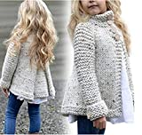 Kyпить Toddler Baby Girls Cute Autumn winter Button Knitted Sweater Cardigan Warm Thick Coat Clothes Raptop (2T(12-18 Months ), Beige) на Amazon.com