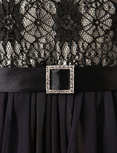 SD342 Damen UK16 Kleid Maxikleid Formale Farbverlauf Chiffon Abendkleid Brautjungfer Bandage Clearbridal zdBfpd