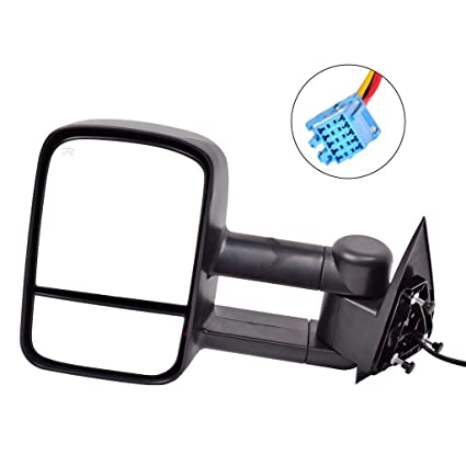 Amazon Com Dedc Left Driver Side Power Heated Side View Mirrors
