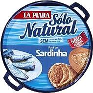 La Piara Sardine Pate Pack 2 x 75g Tins Spanish Tapas Paté Natural No Preservatives (2 Pack)