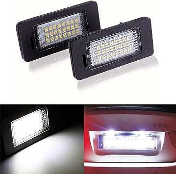 Haichen coppia di nessun errore 24/SMD LED luce targa lampada