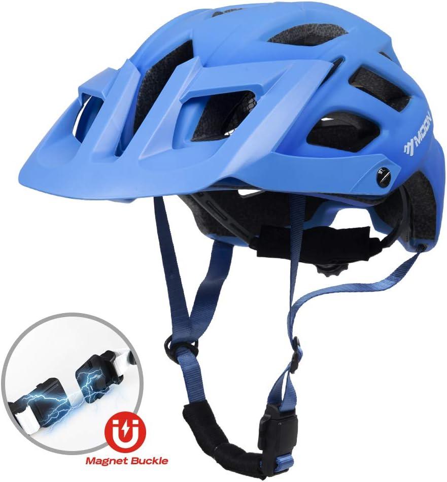 250-280g CPSC CE Certified Magnet Buckle Oversized Visor Bike Helmet Bicycle Helmet for Adults