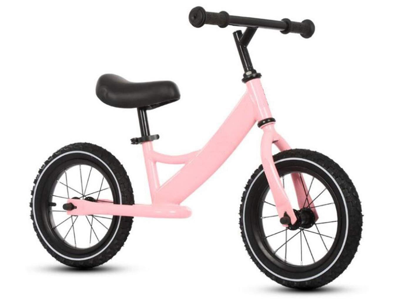 Kinderfahrrad Balance Fahrrad ZWeißad kein Pedal Walking Balance Training Fahrrad Kinder Laufrad Fahrrad Lernrad Pedal Baby Rad geeignet für 2-6 Jahre alte Jungen und Mädchen (Farbe   Blau) Rosa
