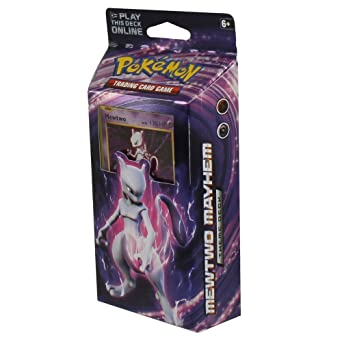 Pok/émon XY Evolutions Chansey Metallic Coin /& More Includes Cracked Ice Holofoil version of Mewtwo Plus Deck Case Full Ready to Play Deck of 60 Cards Mewtwo Mayhem Theme Deck