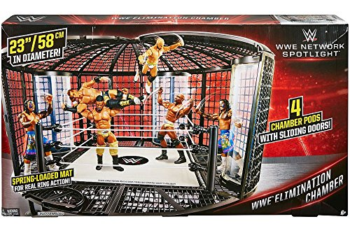 WWE Wrestling WWE Network Spotlight Elimination Chamber Playset (Mattel (Elimination Chamber Toy)