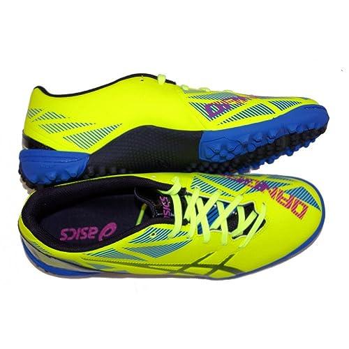 294f7d6266d25 ASICS scarpe da calcetto outdoor DANGAN GIALLO TURF  Amazon.it  Scarpe e  borse