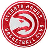 Official Atlanta Hawks Logo Large Sticker Iron On NBA Basketball Patch Emblem