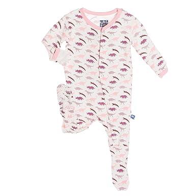305e62ef0641 Amazon.com  Kickee Pants Boys  Print Footie  Clothing