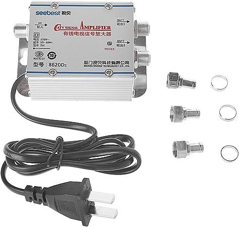 Grabador de vídeo CATV de 2 vías, amplificador de señal de TV ...