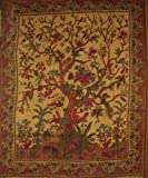Tree of Life Tapestry-Wall Hang-Many Uses-Gorgeous