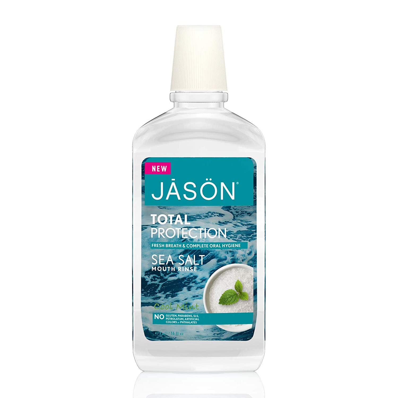 Jason Sea Salt Mouthwash, Cool Mint, 16 Oz (Packaging May Vary)