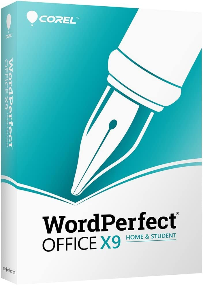Corel WordPerfect Office X9 Home & Student Edition [PC Disc] [Old Version]