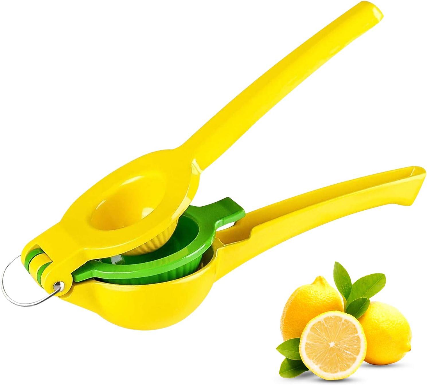 Lemon Squeezer Manual Citrus Juicer - Fruit Juicer Hand Press Lime Squeezer, Professional Citrus Juicer Kitchen Tools, Quality Lime Handheld Press for Lemonade, Party Drink Cocktail