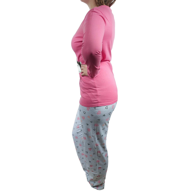 Pigiama da Donna Colore: Rosa//Grigio TVM Europe Pyjama Motivo Minnie