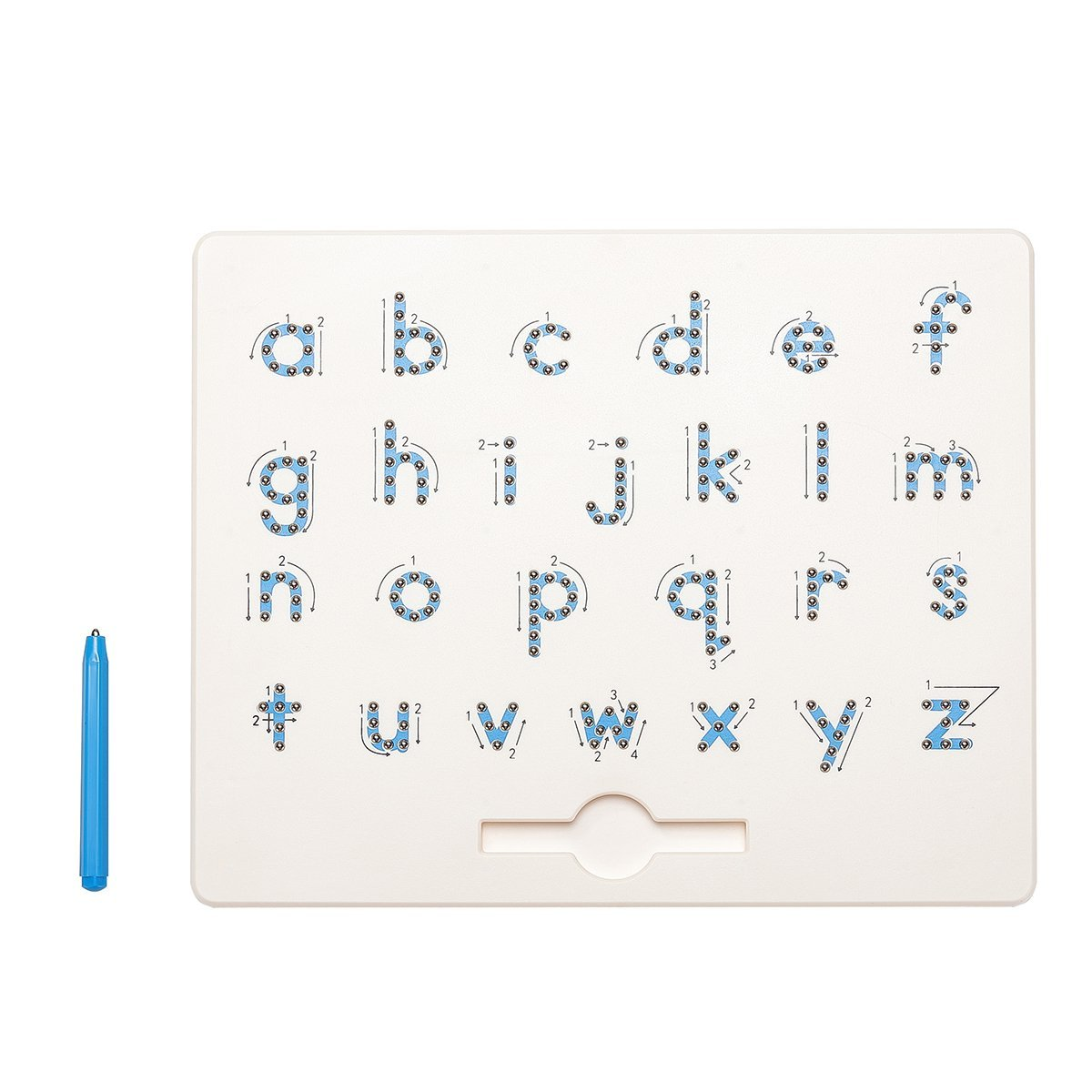 Super Cool Toys A to Z Letter Lower Upper Case Numbers Magna Doodle Children's Handwriting Development Learning Toy for Toddlers (Letter (Lower Case)) by Super Cool Toys