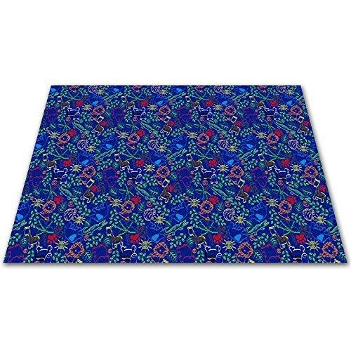 Kid Carpet FE750-42Y Animal Doodles Nylon Area Rug 12' x 6' Multicolored [並行輸入品]   B07HLFNB21