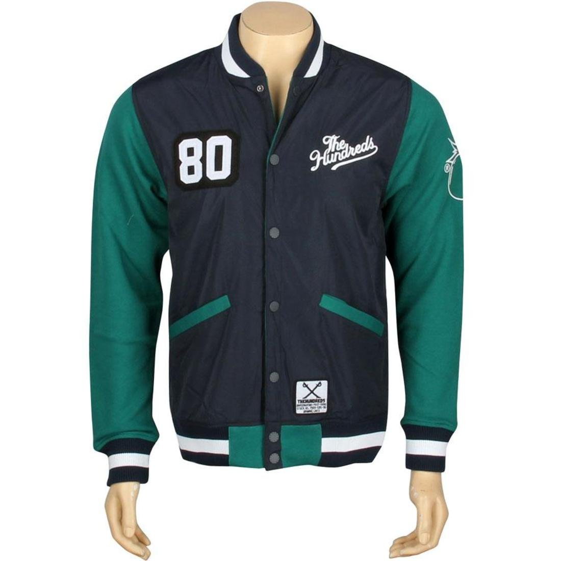 navy The Hundreds Recharged Jacket