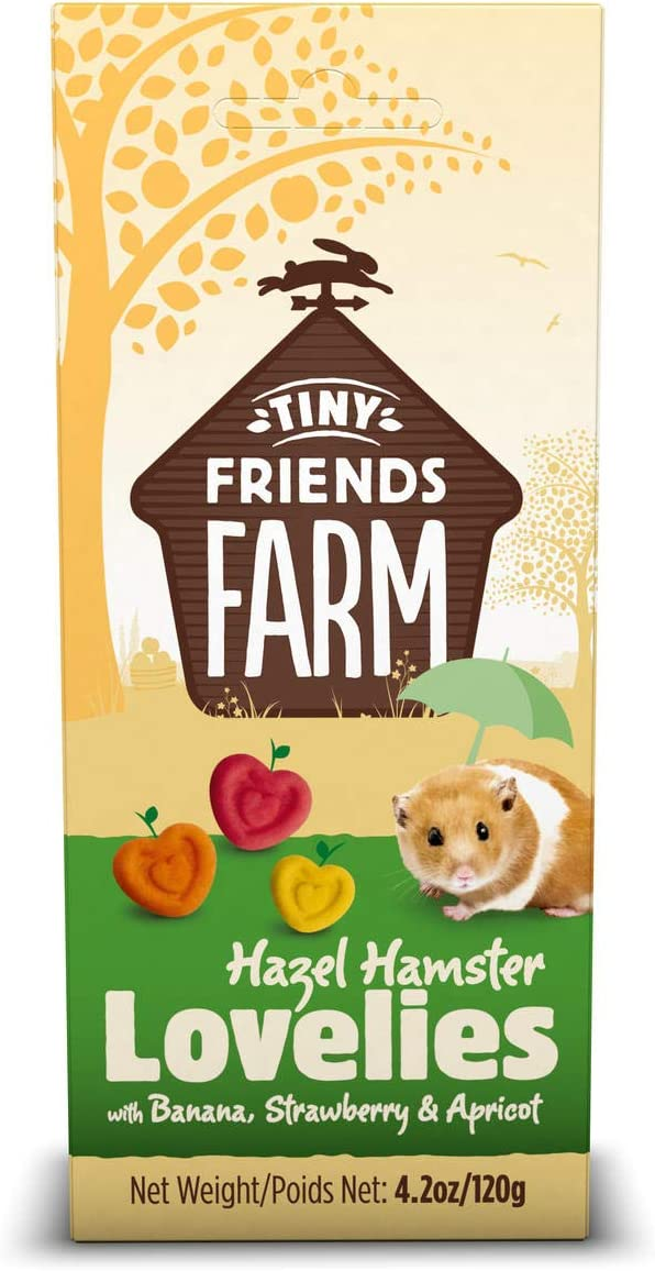 Supreme Tiny Friends Farm Lovelies Hamster Treats, 4.2 oz.