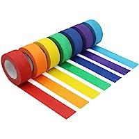 Cinta de carrocero colorida, cinta decorativa de colores