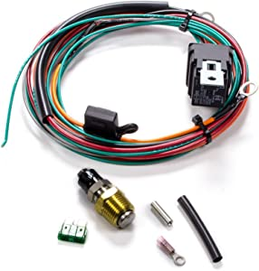 Be Cool 75021 Electric Fan Wiring Harness Kit w/Sending Unit