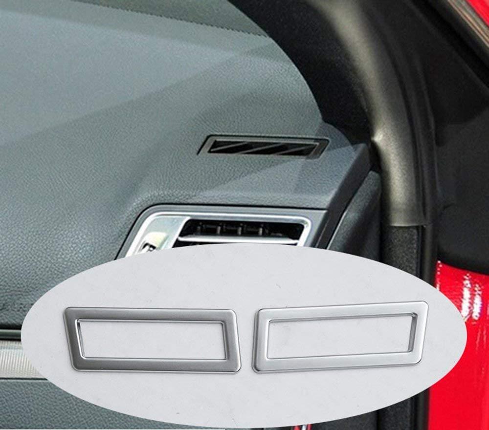 Car-styling ABS Chromé Décoration d'intérieur Tableau de bord la Climatisation Outlet Vent Accessoires Coque Trim Stickers pour portes (2) classe E C207Coupé W212W213Coupé E200E260E320E