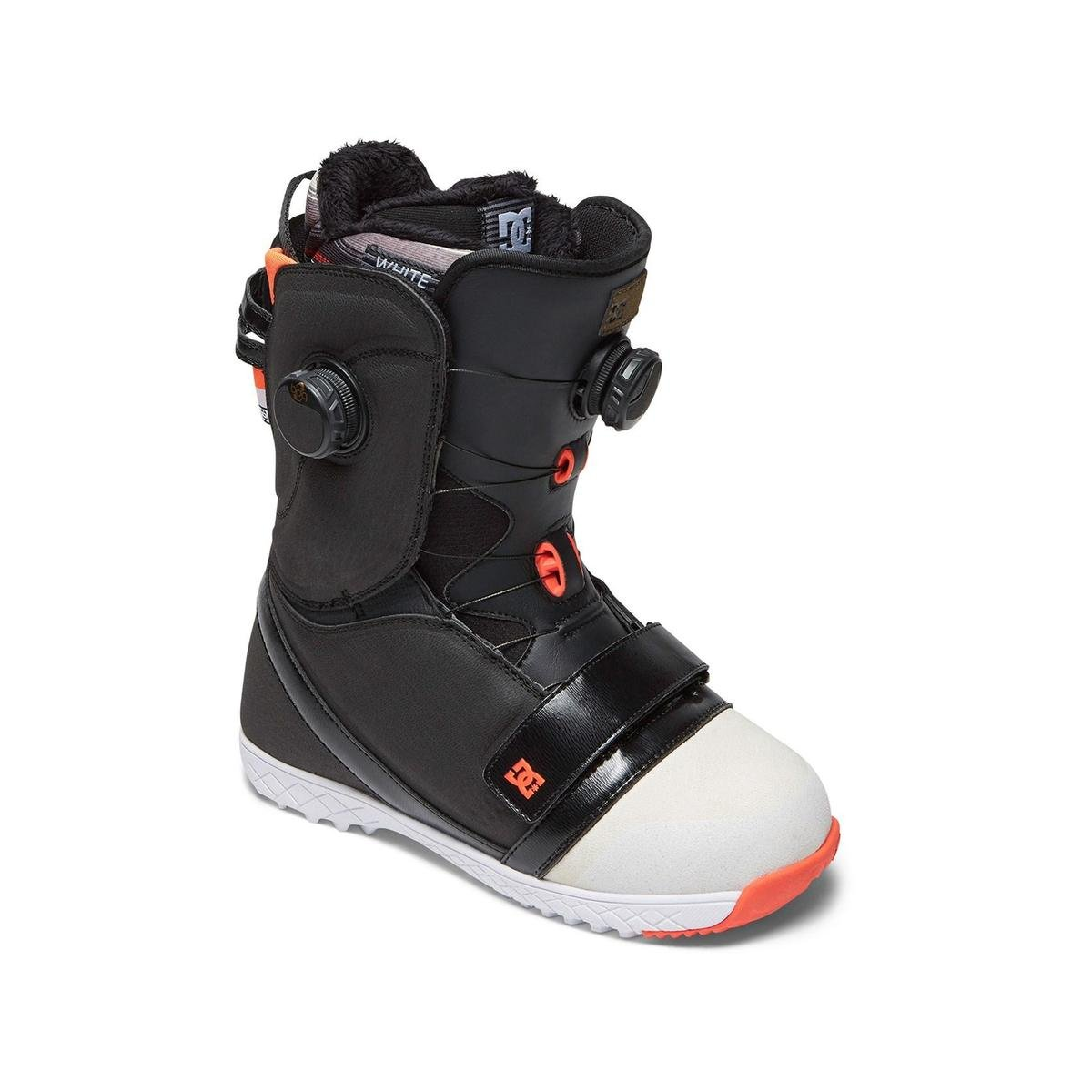 DC Women's Mora Dual Boa Snowboard Boots, Black/White/Pink, 6 by DC