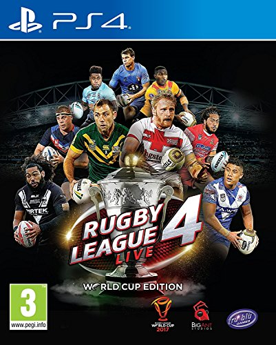 Rugby League Live 4 World Cup Edition (PS4) (UK IMPORT) (Rugby Challenge 2 The Lions Tour Edition)