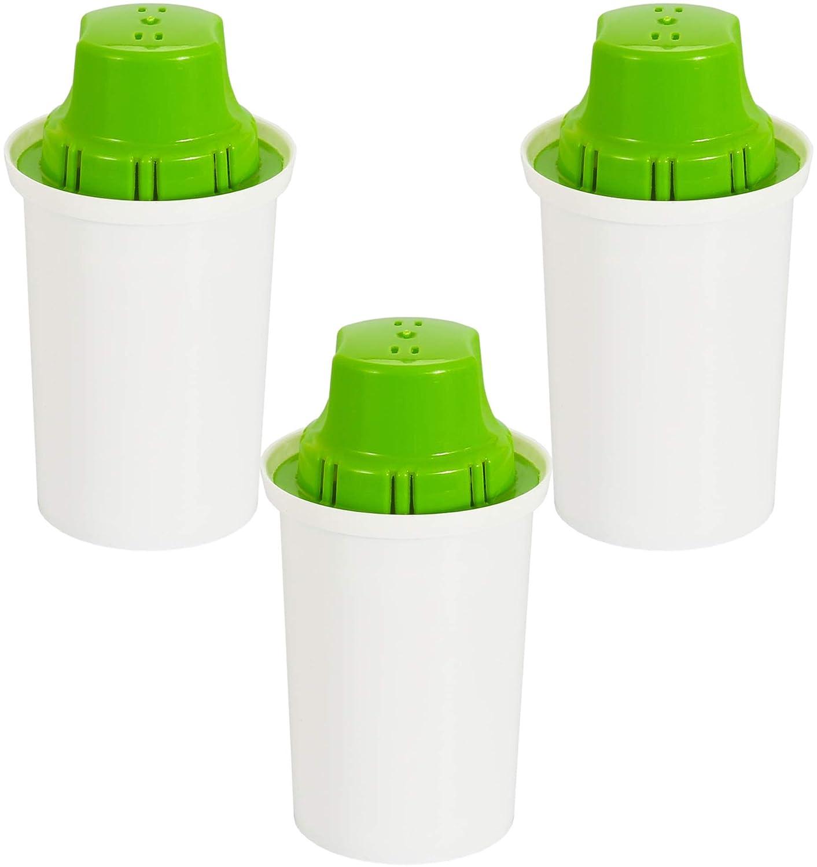 Confezione 3 filtri alcalino (pH+) per acqua per caraffa Brita Classic Prezzi