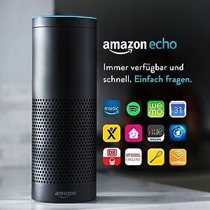 Amazon Echo, Schwarz (Vorherige Generation)