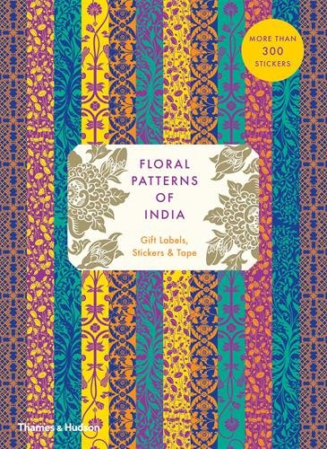 (Floral Patterns of India: Gift Labels, Stickers and Tape )