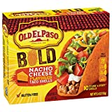 hard taco shells - Old El Paso Stand 'n Stuff Nacho Cheese Flavored Taco Shells, 5.4 Ounce (Pack of 6)