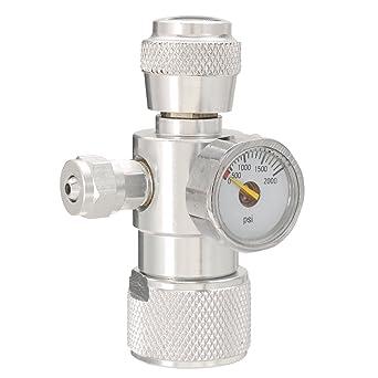 Medidor de presión de CO2, Faway CO2 Moss planta peces acuario único medidor de presión
