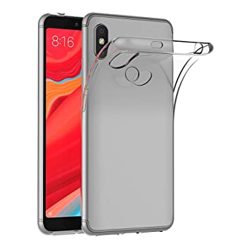 MaiJin Case Xiaomi Redmi S2 (5 99 inch) Soft TPU Rubber Gel Bumper  Transparent Back Cover