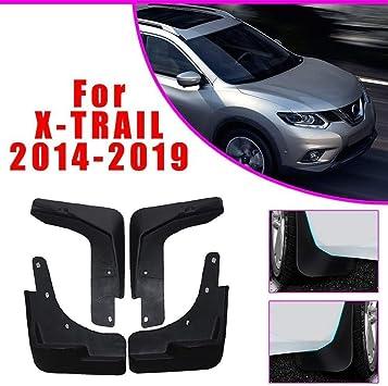 Ldxct 4er Set Schmutzfänger Spritzschutz Vorne Hinten Für Nissan X Trail T32 Rouge 2014 2019 Car Fender Styling Body Fittings Auto