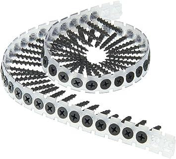 à bois 4.5 x 75 mm Senco SEN45A75MP DuraSpin ® rassemblaient Vis plaque de plâtre Pack 1000