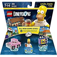 Simpsons Level Pack - Dimensiones LEGO