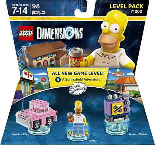 Simpsons Level Pack - LEGO Dimensions Image