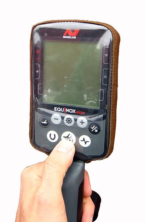 DetectorCovers MINELAB Equinox Detector DE Metal DE LA Cubierta DE LA Caja DE Control (Parte